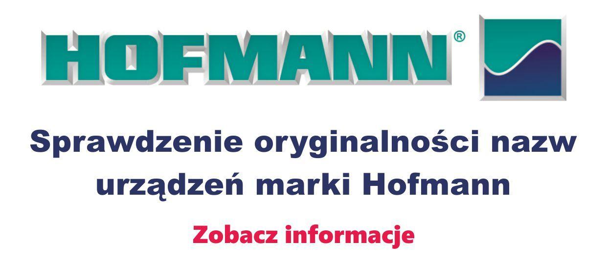 Hofmann Sprawdzenie Oryginalności Nazw